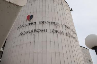 Megújul a Komáromi Jókai Színház épülete