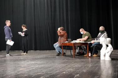 Zajlanak a Temetés próbái a Jókai Színházban