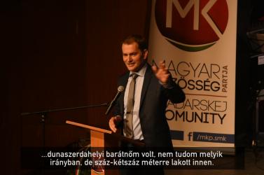 Matovič alaposan kinyalta magát és megkérte az MKP kezét